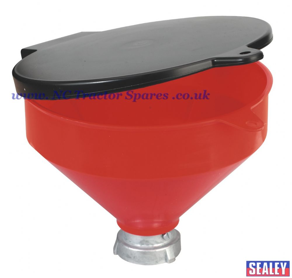 Solvent Safety Funnel with Flip Top